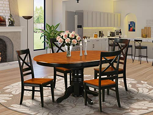 Dining set - 5 Pcs with 4 Wood Chairs