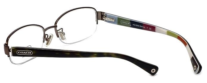 4b9c31a215 Amazon.com  Eyeglasses Coach HC5004 9027 DARK BROWN DEMO LENS  Shoes