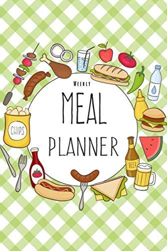Weekly Meal Planner: 52 Weeks Food Planner, Grocery List Menu Food Planners Prep Book Eat Records Journal Diary Notebook Log Book by Maggie L. Brook