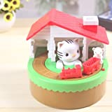 CAT & MOUSE BANK - WATCH THE MOUSE RUN AWAY WITH THE COIN