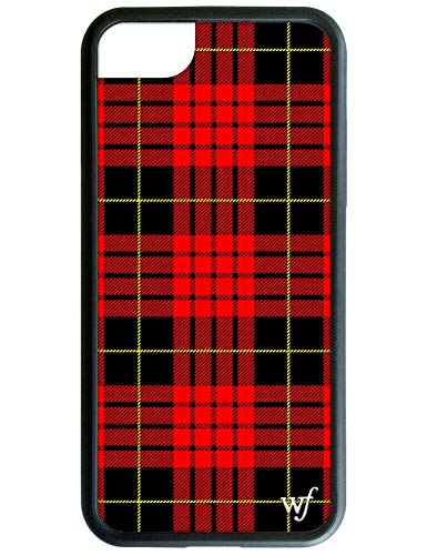 buy popular 9ca3e 3257e Wildflower Limited Edition iPhone Case for iPhone 6, 7, or 8 (Red Plaid)