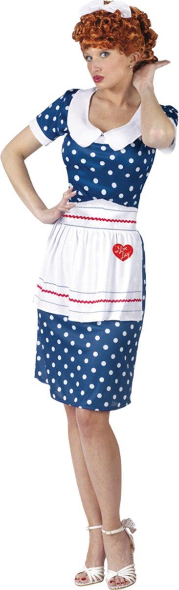 Fun World Women's Morris Costumes Love Lucy Sassy, Multi, Medium/Large