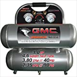 GMC Power Equipment 4.6 Gallon GMC SYCLONE 4610A Ultra Quiet and Oil-Free Air Compressor