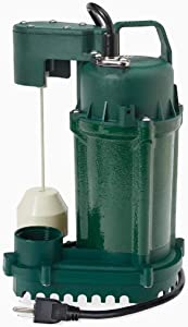 Zoeller 0.5-HP 60GPM Cast Iron Submersible Sump Pump (1075-0001)