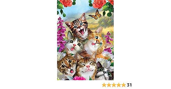 Hello Tiger Cub Jungle Kitten Cat Garden Yard Flag