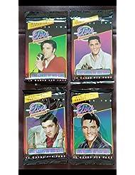Elvis Presley trading cards (4) unopened Packs of Non-Sport Vintage packs