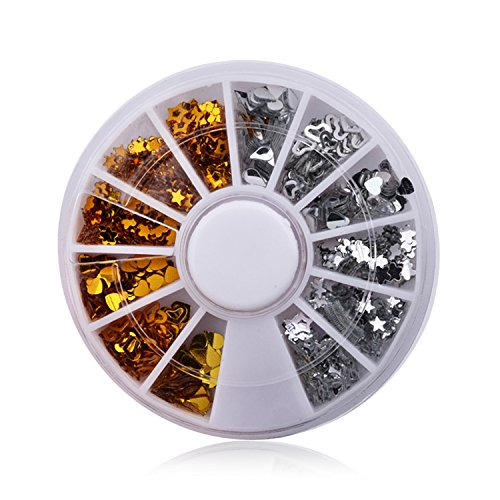 12 Colors/Box Acrylic Crystal Rhinestone Jewelry Nail Decoration Nail Tools Accessories 032 by DKjiaoso