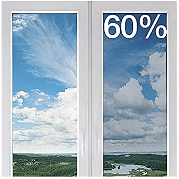 clear uv protection window film 30 wide x 6 5 ft roll window dressing hardware. Black Bedroom Furniture Sets. Home Design Ideas