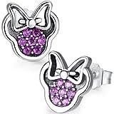 Twenty Plus Cute Dazzling Mickey Shaped Disney Stud Earrings Gifts for Women and Girls