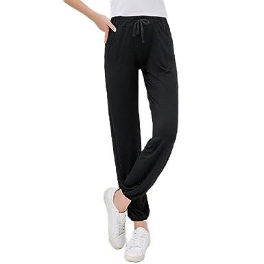 VITryst Pantalones de Pijama para Mujer - Pantalones de Yoga ...