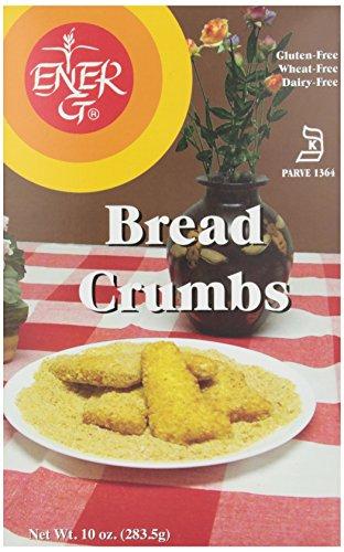 Ener-G Foods, Bread Crumbs, Dairy Free, Wheat & Gluten Free, 10.02 oz Ener G Foods Gluten Free Bread