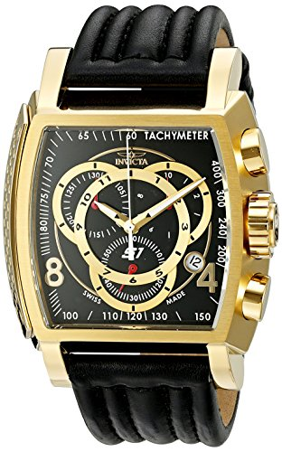 Invicta Men's 20242 S1 Rally Analog Display Swiss Quartz Black Watch