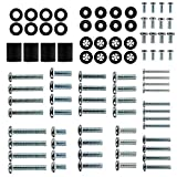 Universal TV Mounting Hardware kit 88pcs Fits All TVs up to 80 inches with M4, M5, M6 and M8 TV Screws,Spacers and Washers