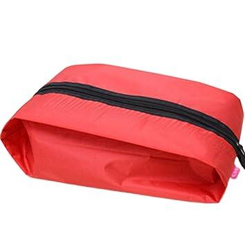 WeiMay Bolsa para zapatos de viaje con cremallera y asa resistente al agua nylon Viaje accesorios Ropa Bolsa Bolsa para zapatos bolsa de ...