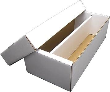BCW Shoe 2 fila caja de almacenaje (1600 ct.) - cartón corrugado caja de almacenaje - bx-shoe 3 unidades: Amazon.es: Hogar