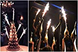 4 pcs - 240 pcs Birthday Wedding Bottle/Cake Party Candles Smokeless Indoor Outdoor Use (40)