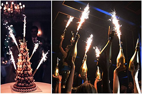 Candles 1 Pack Of 4 Pcs Birthday Wedding Bottle Cake Party Smokeless Indoor Outdoor