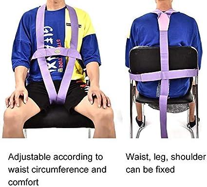 YAMEIJIA Corrector de Postura Paciente de Edad Avanzada Cinturón ...