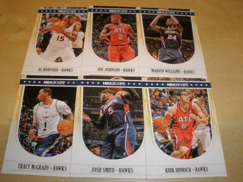 2011/12 Panini Hoops Atlanta Hawks Team Set (6 Cards) Joe Johnson, Josh Smith, Al Horford, Marvin Williams, Tracy McGrady ()