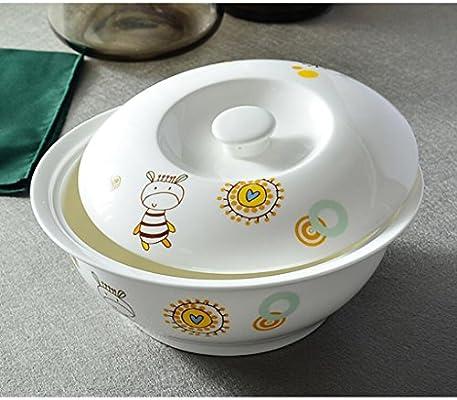Utensilios Liuyu Cocina Inicio con Tapa de Hueso China 9 Pulgadas ...