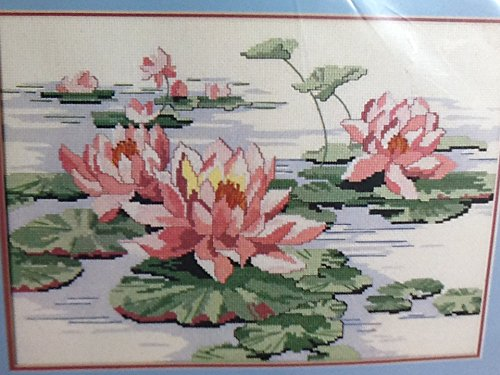 - Dimensions Water Lilies No Count Cross Stitch