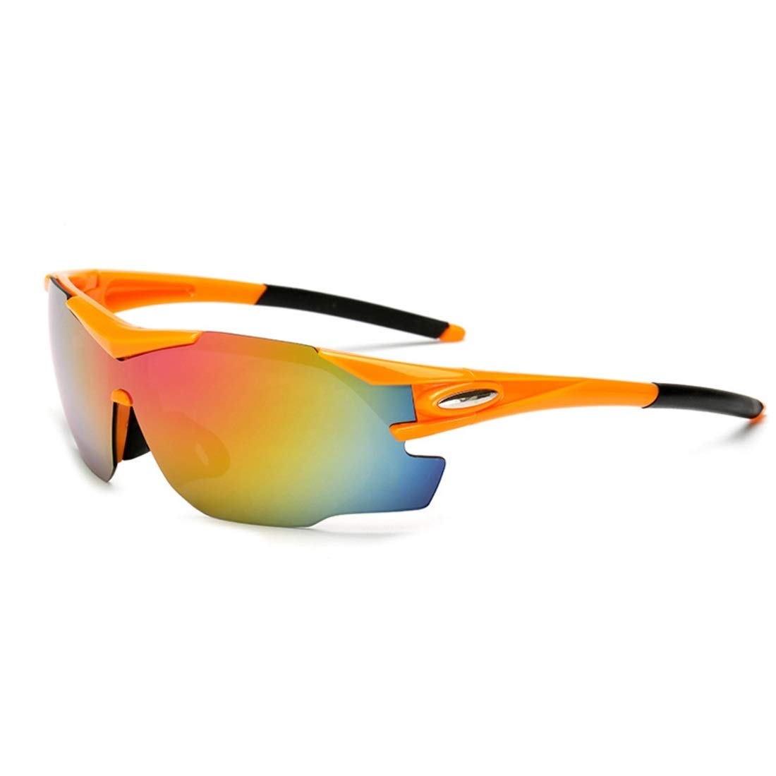 BAOYIT Riding Mountain Bike Motorcycle Men and Women Riding Windproof Glasses Windproof Sand Sunglasses Running Hiking Glass (Color : B) by BAOYIT