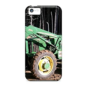 Hot Style Wfy2752UDEj Protective Case Cover For Iphone5c(john Deere Brush)