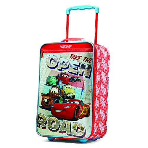 "Price comparison product image American Tourister Disney 18"" Upright Softside, Cars"