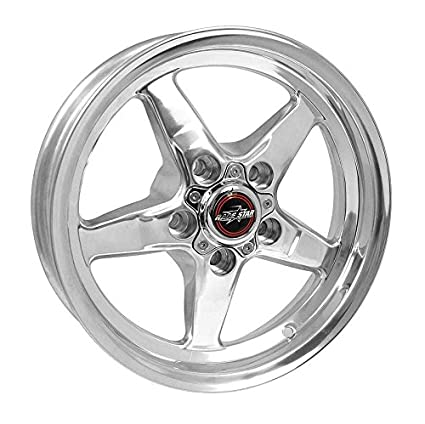 Amazon Com Race Star Drag Star Wheel Polished 15x8