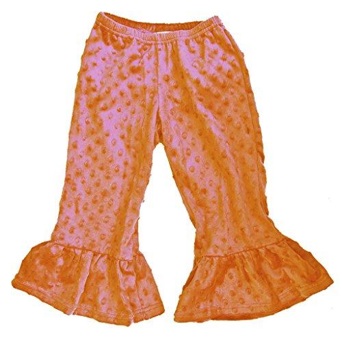 Minky Ruffle Pants - 2