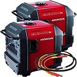 Honda EU3000 Inverter Generators (2) and Parallel Cable Kit