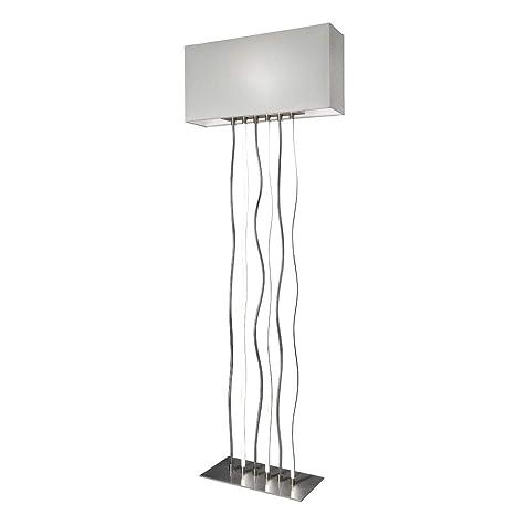 Sompex Viper - Lámpara de pie (bombilla led de 17 W y 3000 K,