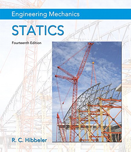 Engineering Mechanics: Statics Plus Mastering Engineering with Pearson eText — Access Card Package (14th Edition) (Hibbeler, The Engineering Mechanics: Statics & Dynamics Series, 14th Edition)
