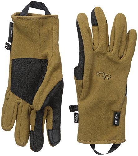 (Outdoor Research Men's Gripper Sensor Gloves, Coyote, Large)