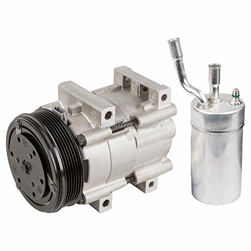 AC Compressor w/A/C Drier For Mercury Cougar 2.0L 1999 2000 2001 2002 - BuyAutoParts 60-89723R2 New (Mercury Cougar A/c)