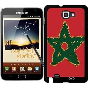 Funda para Samsung Galaxy Note GT-N7000 (I9220) - Marruecos FLAG- 8 Bits by Cadellin