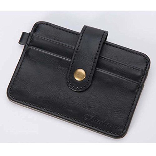 Wallet Leather Black Business Bifold ID Pockets Card Brown Luxury Soft Credit Holder Hotsellhome Men Purse New qwHFAA