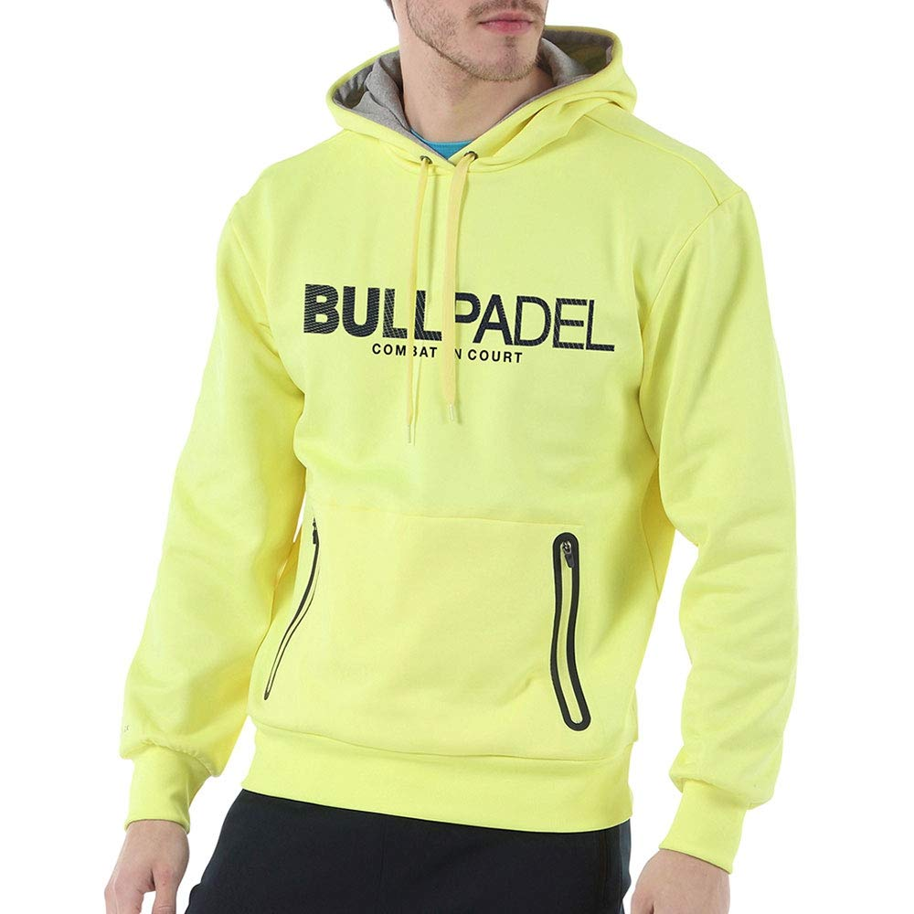 Bull padel Sudadera BULLPADEL ORTEX Amarillo FLÚOR: Amazon.es ...