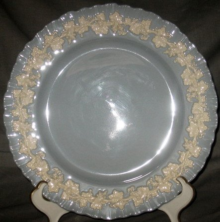 Wedgwood Shell Cream Color Lavender Bread Butter Plate