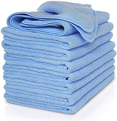 e577373d0e4 VibraWipe Microfiber Cloth – Pack of 8 Pieces (All-Blue) Microfiber  Cleaning Cloths