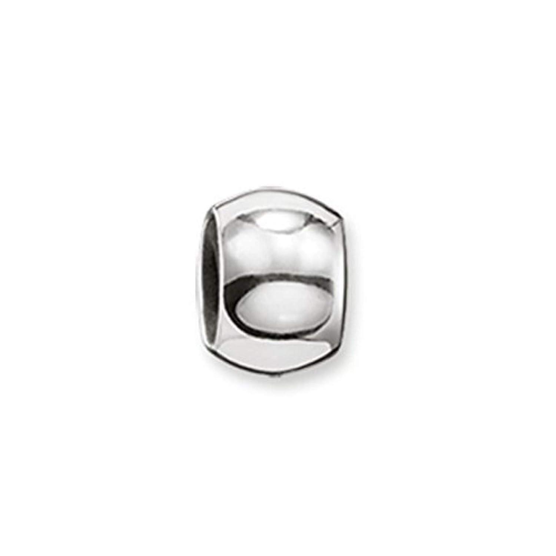 Thomas Sabo Femmes Hommes-Stoppeur pour collier bracelet Karma Beads Argent Sterling 925 Silicone KS0002-585-12 Thomas Sabo GmbH