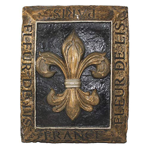 Harvey J Fleur De Lis Decorative Wall Plaque