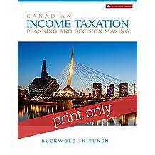 Canadian Income Taxation 2016/2017