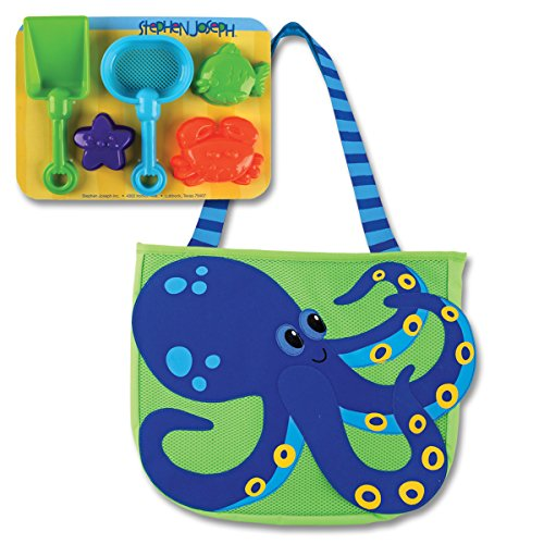 Stephen Joseph Beach Tote Octopus product image