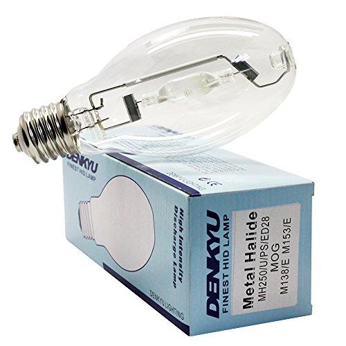 MH250/U/PS/4K/ED28 250W Pulse Start Metal Halide Lamp M138 M153 (10407) (250w Pulse Start Metal)