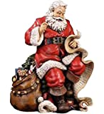 Napco Santa Holding List Figurine