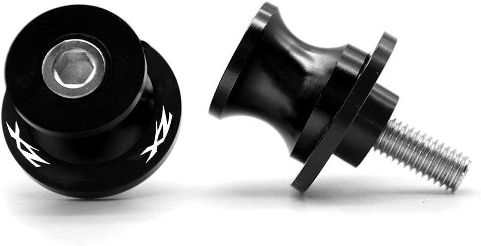 2pcs Montageständer Racingadapter M8 1 5 Bobbins Cnc Ständeraufnahme Für Kawasaki Zx6r 2013 2014 2015 2016 Zx10r 2013 2014 2015 2016 Schwarz Auto