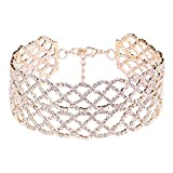 KTYX European and American Alloy Openwork Pattern Bridal Accessories 29+154cm Jewelry (Color : Gold)