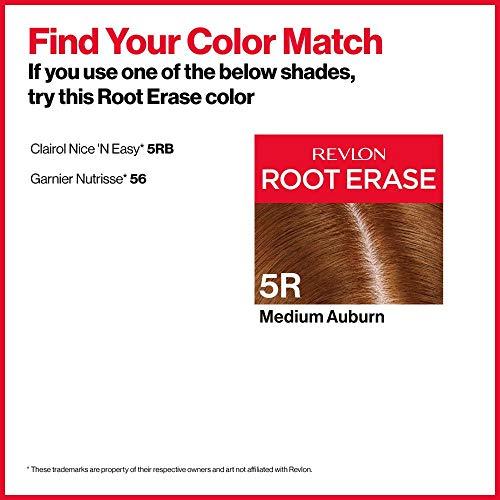 Intense red hair dye for dark hair