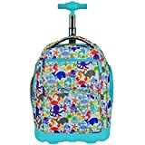 Kids Fun Blue Under Water Backpack Carry Aqua Sea Life Star Fish Crab Themed